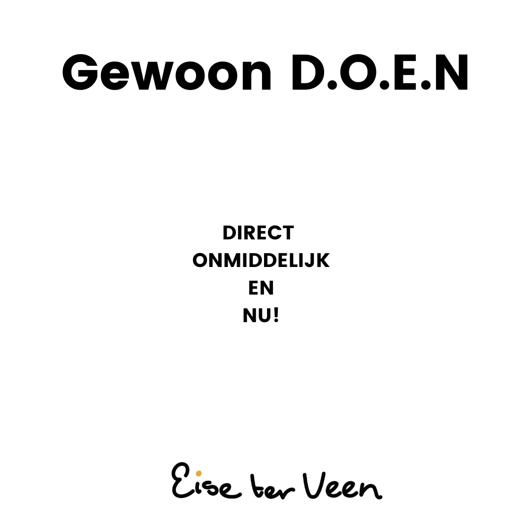 Eise ter Veen - Gewoon D.O.E.N