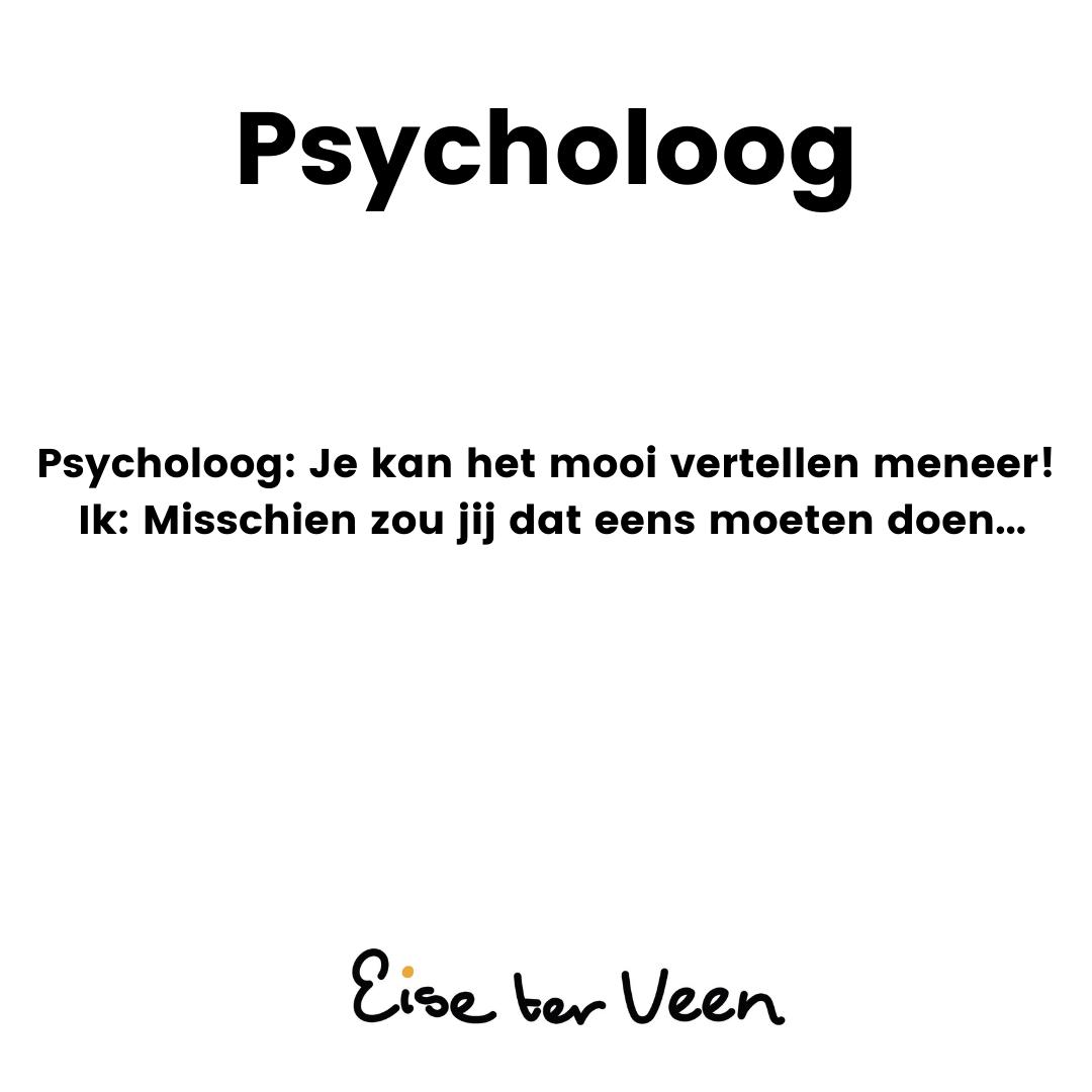 Eise ter Veen - Psycholoog